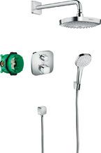 Душевой набор hansgrohe Croma Select E/Ecostat 27294000