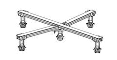 Ножки для душевых поддонов Kaldewei Universal 5200 (5843 7700 0000)