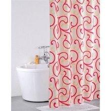 Штора для ванной комнаты IDDIS Flower Lace Red 411P20RI11