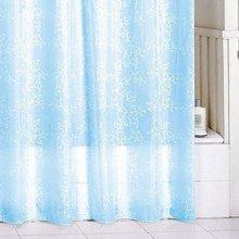 Штора для ванной комнаты Milardo Blue Leaf SCMI083P