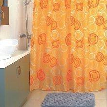 Штора для ванной комнаты Milardo Holiday rounds 860P180M11