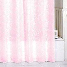 Штора для ванной комнаты Milardo Pink Leaf SCMI085P