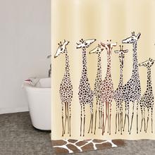 Шторка для ванной комнаты IDDIS 180x200 Safari Friends 570P18Ri11