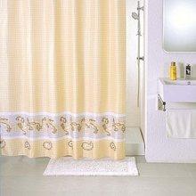 Штора для ванной комнаты Milardo Beige Fresco SCMI013P