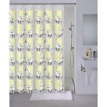Штора для ванной комнаты Milardo Cozy cats 528V180M11