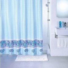 Штора для ванной комнаты Milardo blue fresco SCMI011P