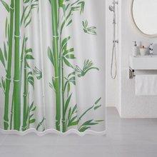 Штора для ванной комнаты Milardo Bamboo (green) 510V180M11