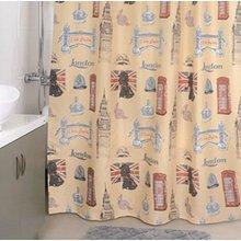 Штора для ванной комнаты Milardo British Sings 870P180M11