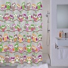 Штора для ванной комнаты Milardo Cheeky owls 530V180M11