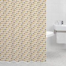 Штора для ванной комнаты Milardo Classic Tiles 700P180M11