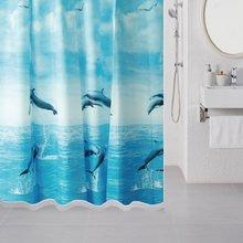 Штора для ванной комнаты Milardo Dolphins 519V180M11
