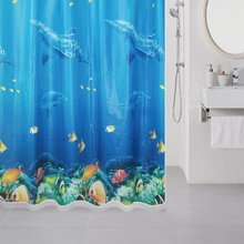 Штора для ванной комнаты Milardo Ocean Floor 520V180M11