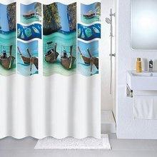 Штора для ванной комнаты Milardo Paradise sky 534V180M11