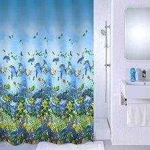 Штора для ванной комнаты Milardo Sea life 526V180M11