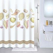 Штора для ванной комнаты Milardo Shelly beach 531V180M11