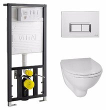 Комплект унитаз Vitra Arkitekt 9005B003-7211 с инсталляцией