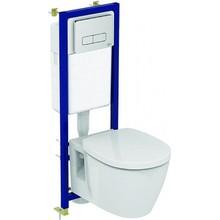 Комплект унитаз Ideal Standard W880101, с крышкой-сиденьем и инсталляцией