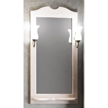 Зеркало Opadiris Тибет 50 Z0000004146 беленый бук