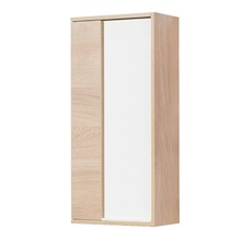 Шкаф навесной Акватон Бостон 40 (1A239903BN010), белый глянец/дуб эврика