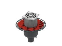 Трап дренажный tecedrainpoint s 130, с универсальным фланцем seal system 3601300