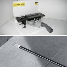 VIEGA Advantix Vario Модель 4965.21 Душевой лоток в комплекте с дизайн вставкой, глянцевая сталь, 704360