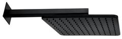 Верхний душ Bossini Cosmo H69598I.073 черный матовый