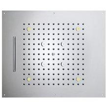 Верхний душ Bossini Dream H38935.030 (3 режима) с подсветкой, хром