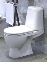 Унитаз напольный Sanita Max с крышкой-сиденьем микролифт