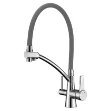 Смеситель для кухни Lemark Comfort LM3071C-Gray