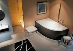 Акриловая ванна Riho Lyra BA6600500000000 (140х90) (L)