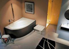 Акриловая ванна Riho Lyra BA6500500000000 (140х90) (R)
