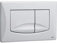 Смывная клавиша OLI RIVER DUAL 638501 механическая, белый