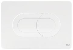 Смывная клавиша OLI SALINA 640081 пневматическая, белый