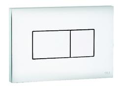 Смывная клавиша OLI KARISMA 641001 пневматическая, белый