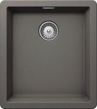 Кухонная мойка Schock Greenwich 45 Cristadur, серебристый камень