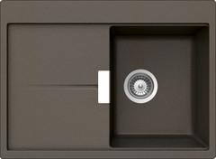 Кухонная мойка Schock Horizont 40d Small Cristadur, бронза
