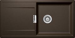 Кухонная мойка Schock Eton 60d Large Cristadur, бронза