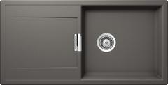 Кухонная мойка Schock Eton 60d Large Cristadur, серебристый камень