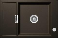 Кухонная мойка Schock Eton 60d Small Cristadur, бронза
