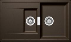 Кухонная мойка Schock Eton 60d Cristadur, бронза