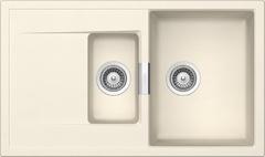 Кухонная мойка Schock Eton 60d Cristadur, магнолия