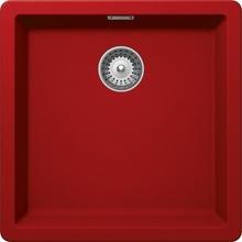 Кухонная мойка Schock Greenwich 50 Cristadur, красный