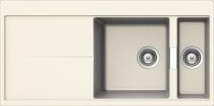 Кухонная мойка Schock Horizont 60d Cristadur, магнолия