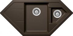 Кухонная мойка Schock Signus 90c Cristadur, бронза