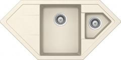Кухонная мойка Schock Signus 90c Cristadur, магнолия