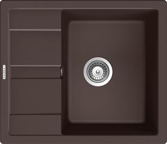 Кухонная мойка Schock Optima 45D CRISTALITE, мокка