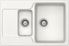 Кухонная мойка Schock Cambridge 60D CRISTALITE, альпина