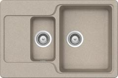 Кухонная мойка Schock Cambridge 60D CRISTALITE, саббиа