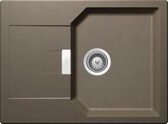 Кухонная мойка Schock Manhattan 45D CRISTALITE (Комплектация 1), альпака