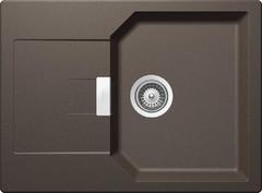 Кухонная мойка Schock Manhattan 45D CRISTALITE (Комплектация 2), инка